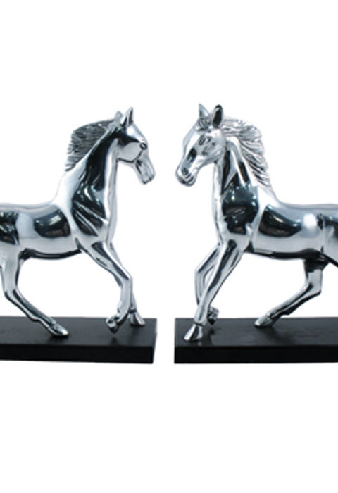Horse figure piece, silver decorative objects, silver show piece, manufacturer of decorative pieces