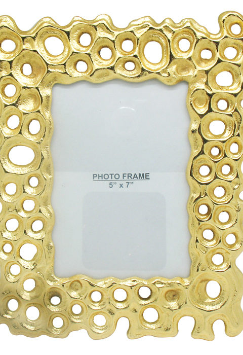 Golden photo frame, photo frame stand, customised gifts