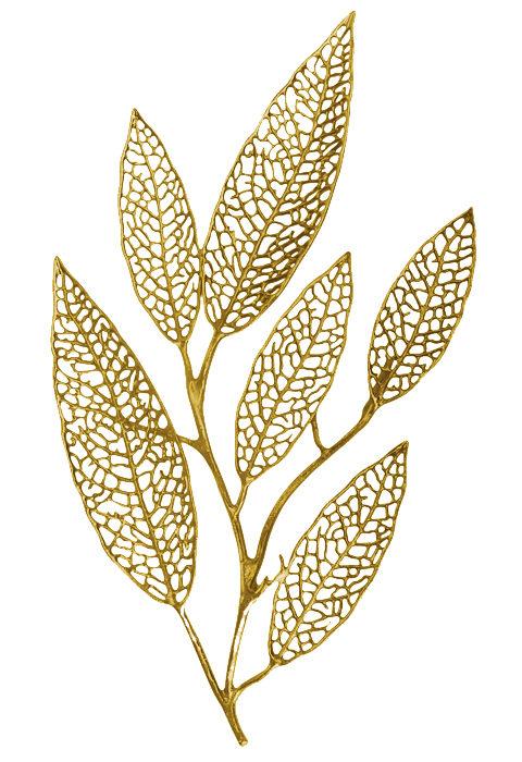 Leaf wall art, golden wall art, hand made wall hangings, wall art ideas, wall art designs, wall art manufacturers
